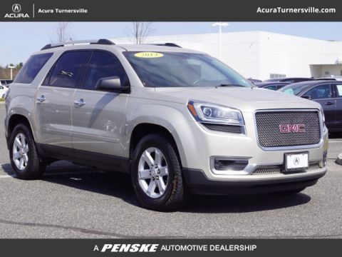 Pre-Owned 2013 GMC Acadia FWD 4dr SLE w/SLE-1