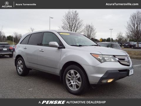 Pre-Owned 2007 Acura MDX 4WD 4dr Tech Pkg