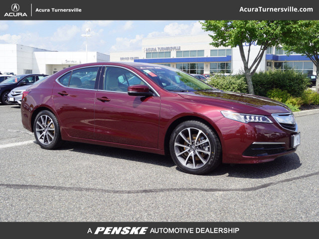 Certified PreOwned Acura TLX V AT PAWS With - Pre own acura
