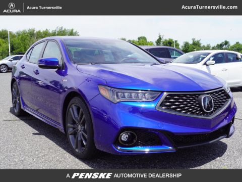 New 2020 Acura TLX with A-Spec Package and Red Interior