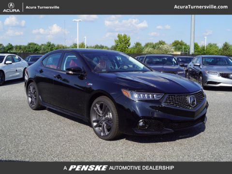 New 2019 Acura TLX FWD V6 A-Spec Red