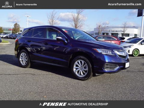 Certified Pre-Owned 2017 Acura RDX AWD with Technology Package