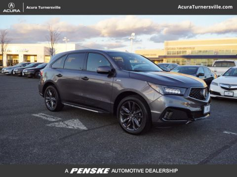 Pre-Owned 2019 Acura MDX SH-AWD w/Technology/A-Spec Pkg
